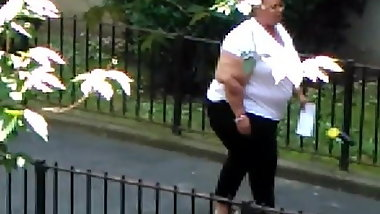 Zanetta ssbbw big ass from my window 4