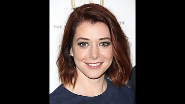 Alyson Hannigan Jerk Off Challenge