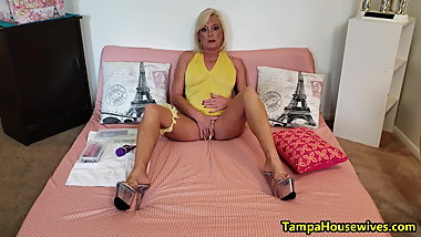 The JOI Show Yellow with Orgasms