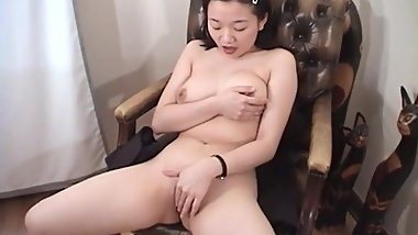 Amateur Asian Teen Pussy Play