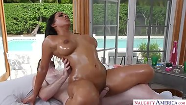 erotic massage and passionate sex with big boobs indian girl