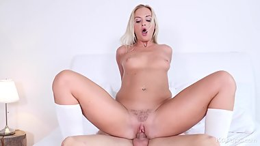 Banging The Blonde Nanny