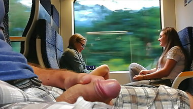 Train cumshot 5