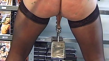 Heavy weight suspension bondage