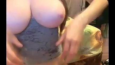 Big tits anal on webcam