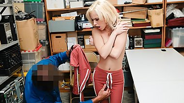 ShopLyfter - Teen Thief Gets Probed in Her Hole