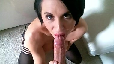 British Pornstar Louise Blowjob 2