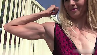 Muscle Blonde