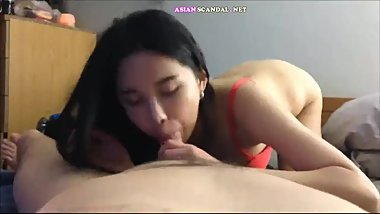 Asian Sucking Fucking and Facial