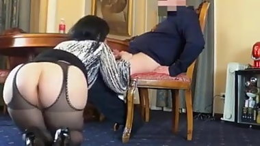 Hot secretary anal