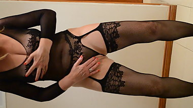 Fishnet Bodystocking Lingerie