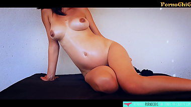 Pregnant Amateur French Girl masturbates - Vends-ta-culotte