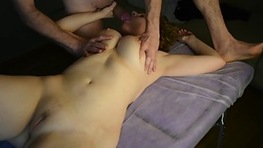 I eat my masseuse's cock