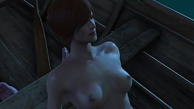 Shani Witcher 3 sex scene