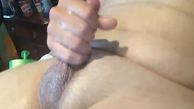 Young Chubby Boy Jerking With BIG Cum Shot (Close Up)