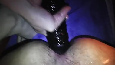 Amateur Hot Sexy Mistress Femdom Wife Fuck Husband Asshole Hard with Dildos