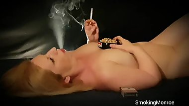This chain-smoker girl has a nasty cough and is very short of breath