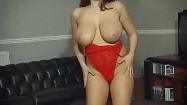 MYSTERIOUS WAYS - British huge boobs strip dance tease