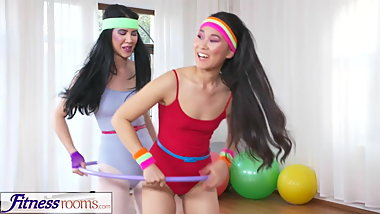 Fitness Rooms Hula hoop hotties get sex physical