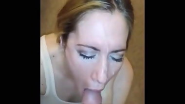 Shameless blowjob compilation 9 - Cum on face