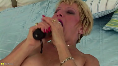 This mature mom is crazy but you will like her