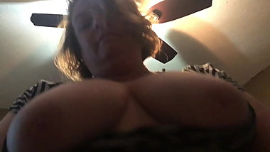 Chubby wife on top