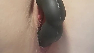 Glasgow wife gets pussy  toyed and electro anal probe