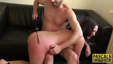 Bound bdsm european slut