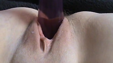 uk wife  ,finger , vibe ,cum